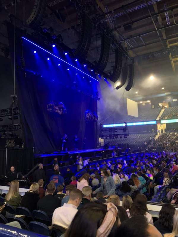 Allstate Arena, section: 103, row: A, seat: 14