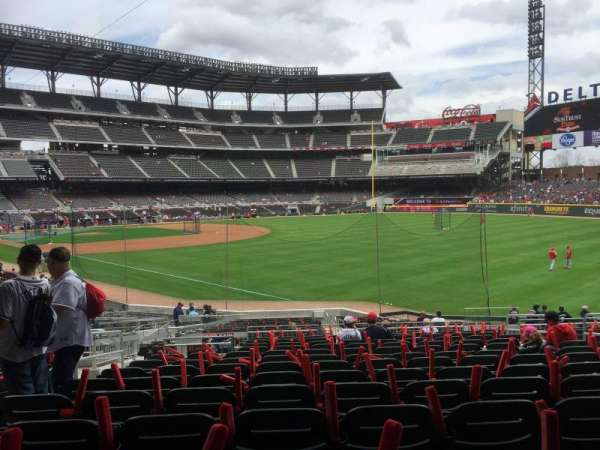 SunTrust Park, section: 10, row: 13, seat: 9