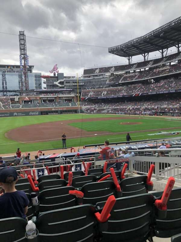 Truist Park, section: 135, row: 6, seat: 6