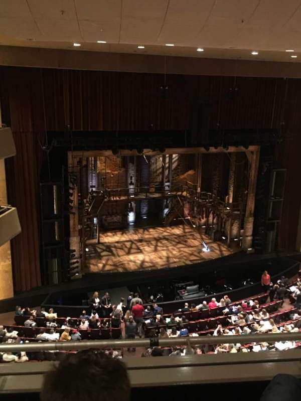 The Buell Theatre, section: Balcony D, row: B, seat: 305