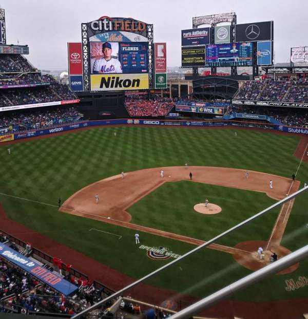 Citi Field, section: 518, row: 1, seat: 3