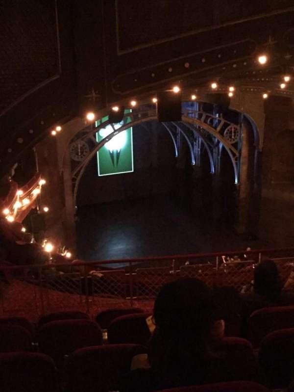 Lyric Theatre, section: Balcony L, row: H, seat: 21