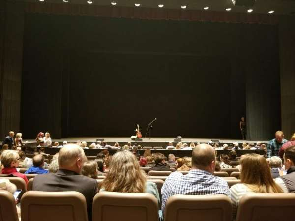 Chapman Music Hall - Tulsa Performing Arts Center, section: OL, row: K, seat: 105