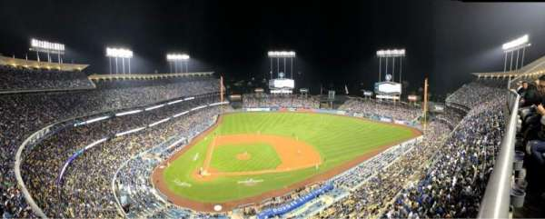 Dodger Stadium, section: 12TD, row: A, seat: 2