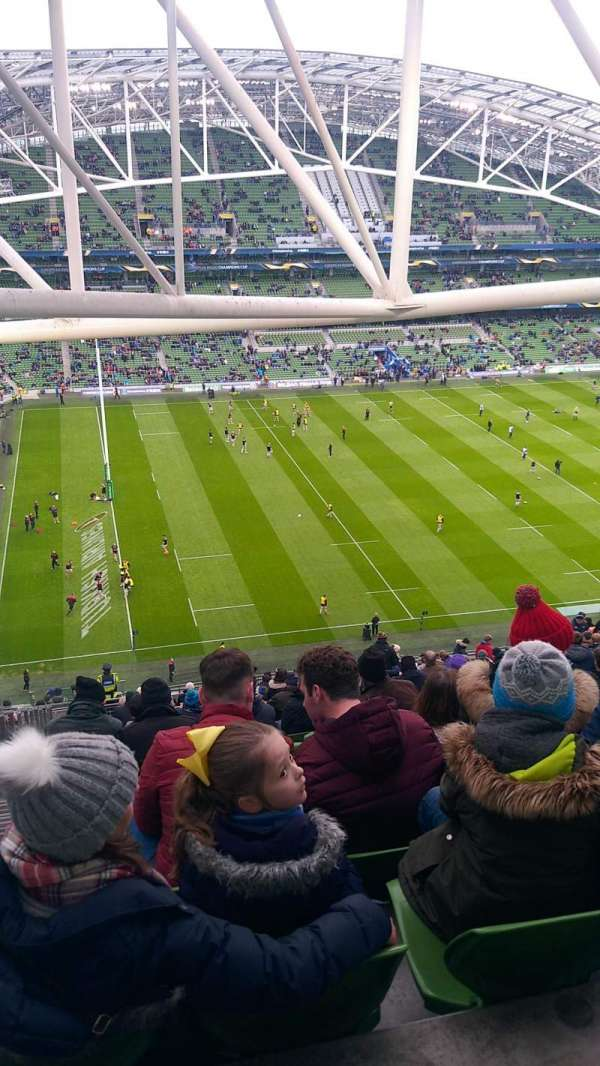 Aviva Stadium, section: 508, row: FF, seat: 14