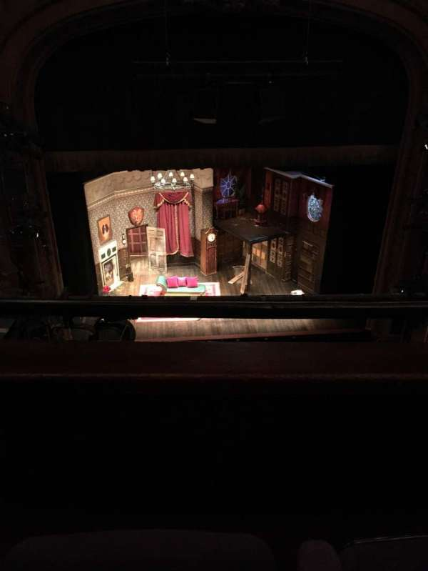 lyceum theatre (broadway), section: Balcony C, row: B, seat: 110