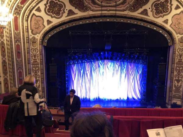 Cadillac Palace Theater, section: Balcony Center, row: E, seat: 311