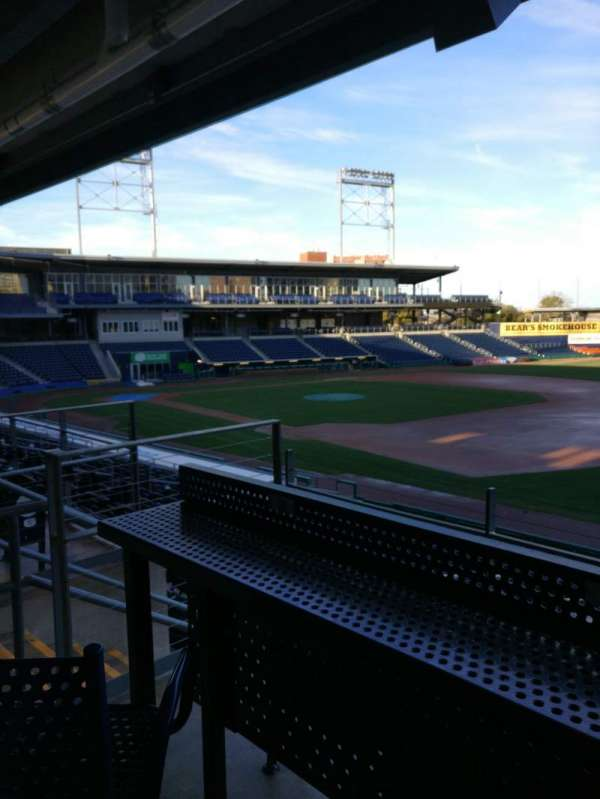 Dunkin' donuts park, section: 103, row: High Top Swivel Chair, seat: S12