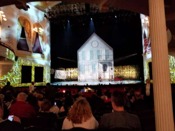 Ford's Theatre, section: Orchestra Center, row: M, seat: 101