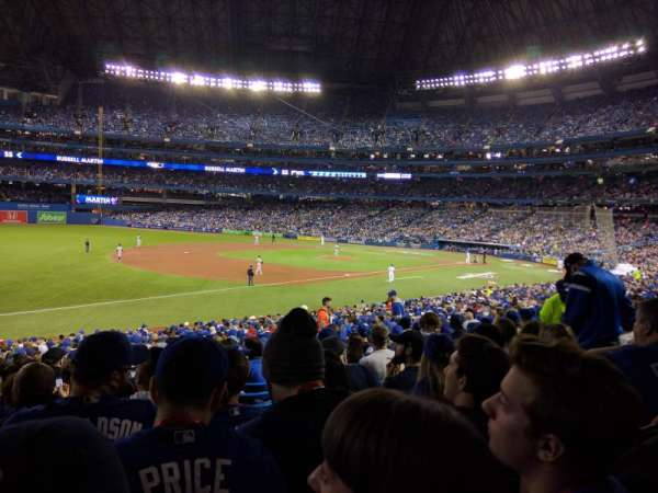 Rogers Centre, section: 130BR, row: 31, seat: 11