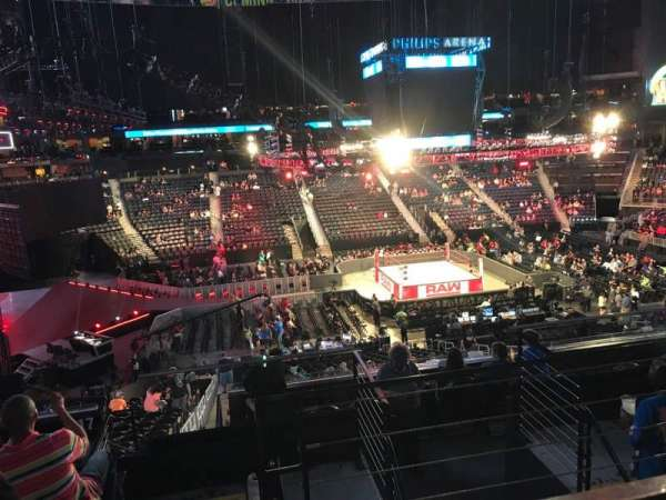 State Farm Arena, section: 213, row: F, seat: 3