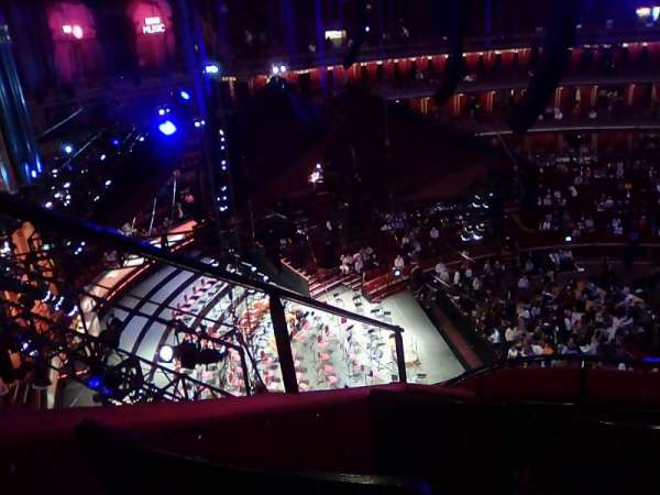 Royal Albert Hall, section: Circle P, row: 7, seat: 1