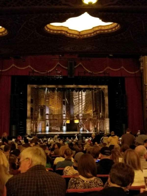 The Fabulous Fox Theatre (St. Louis), section: ORCH03, row: CC, seat: 117