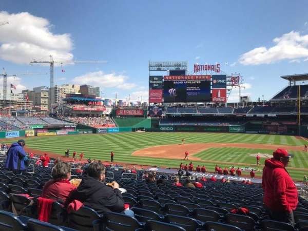 Nationals Park, section: 117, row: SS, seat: 3