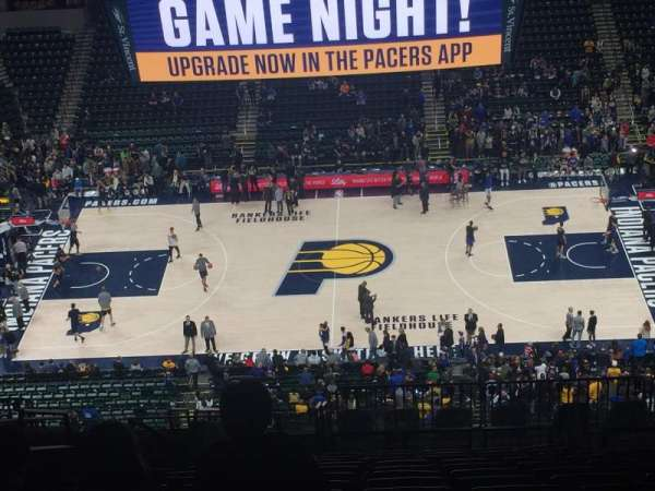 Bankers Life Fieldhouse, section: 224, row: 18, seat: 20