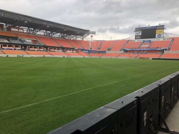 BBVA Compass Stadium, section: Field