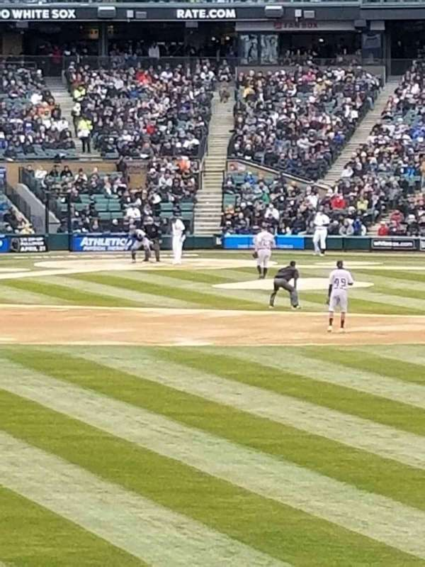 Guaranteed Rate Field, section: 102, row: 16, seat: 1