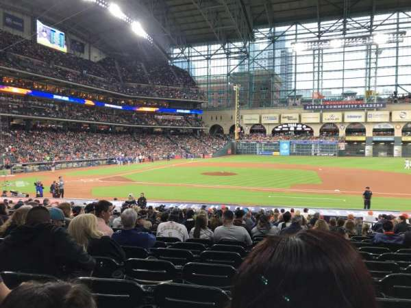 Minute Maid Park, section: 125, row: 25, seat: 11