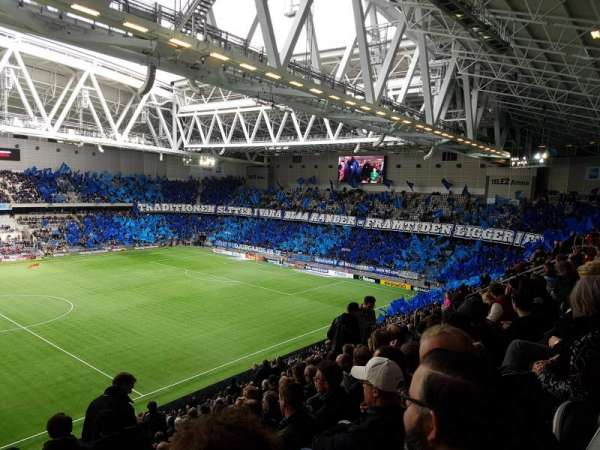 Tele2 Arena, section: B306, row: 14, seat: 261