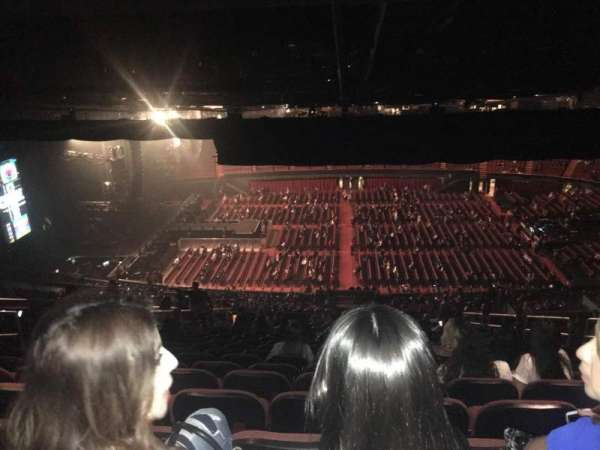 The Forum, section: 227, row: 24, seat: 9