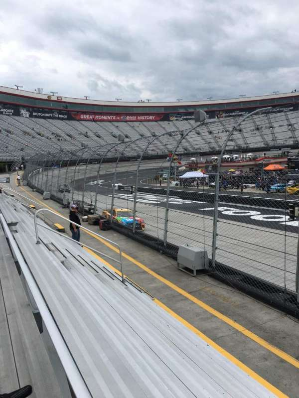 Bristol Motor Speedway, section: Allison F, row: 1, seat: 1