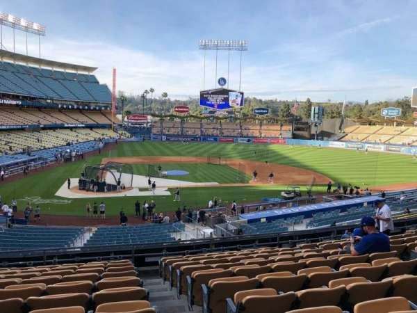 Dodger Stadium, section: 120LG, row: K, seat: 4-7
