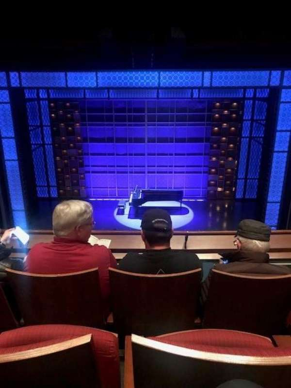 Stephen Sondheim Theatre, section: Mezzanine, row: CC, seat: 110