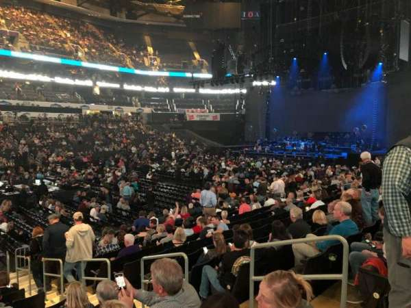 Spectrum Center, section: 116, row: N, seat: 4