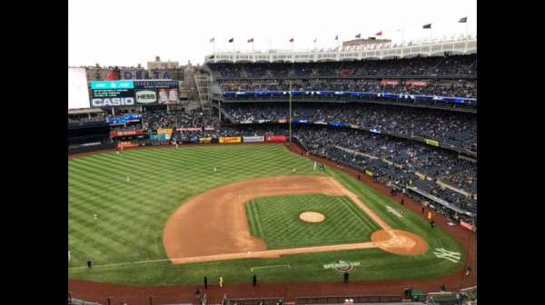 Yankee Stadium, section: 424, row: 1, seat: 1