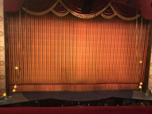 Imperial Theatre, section: Front Mezzanine 2, row: A, seat: 3