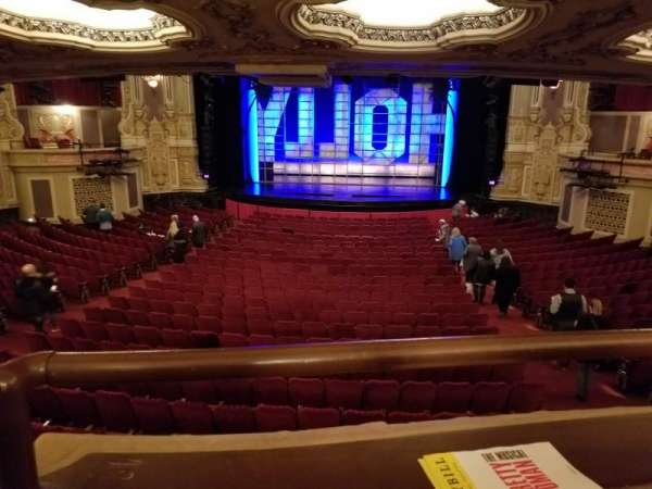 Nederlander Theatre (Chicago), section: Dress Circle C, row: A, seat: 210