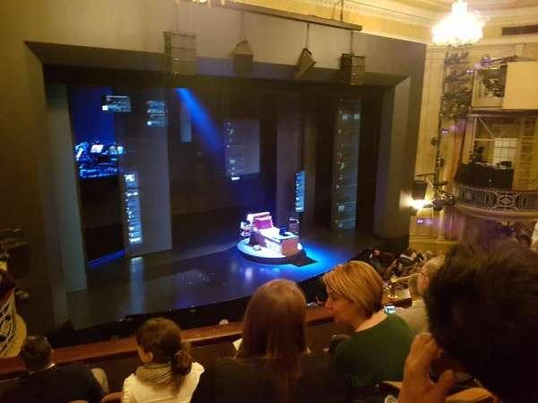 Music Box Theatre, section: Mezzanine L, row: E, seat: 15