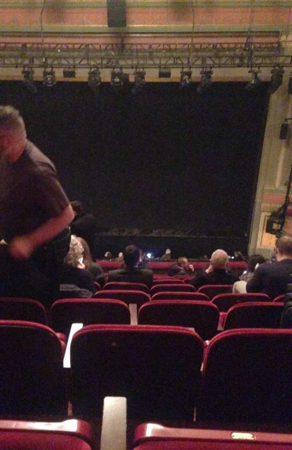 Neil Simon Theatre, section: Front Mezzanine C, row: K, seat: 113