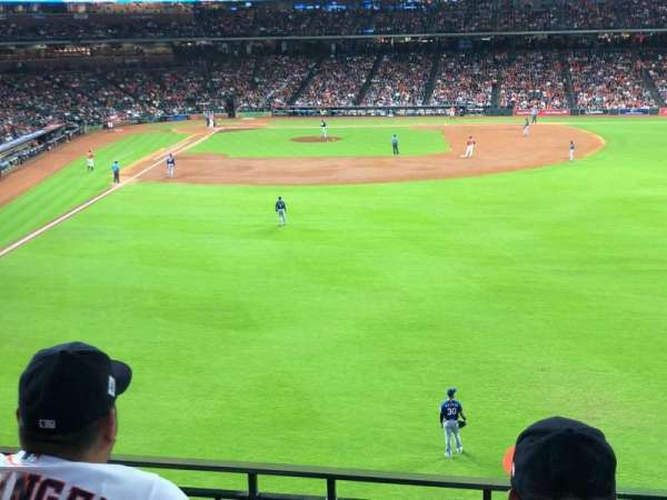 Minute Maid Park, section: 252, row: 3, seat: 20