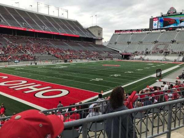 Ohio Stadium, section: 11A, row: 2, seat: 2