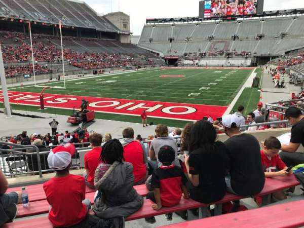 Ohio Stadium, section: 7a, row: 6, seat: 6