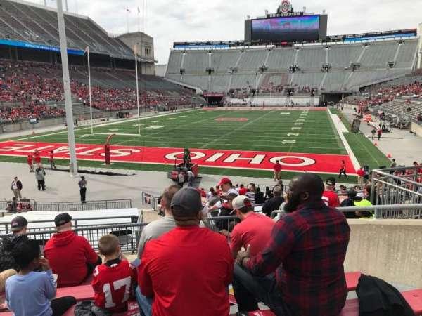 Ohio Stadium, section: 5a, row: 7, seat: 8