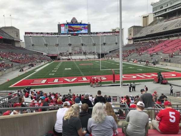 Ohio Stadium, section: 4a, row: 7, seat: 11