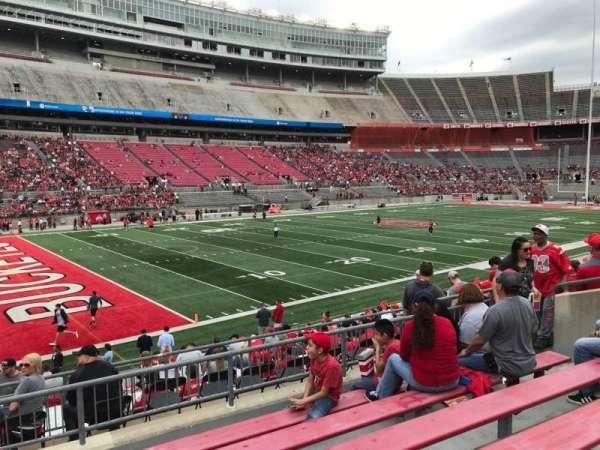 Ohio Stadium, section: 28a, row: 6, seat: 11