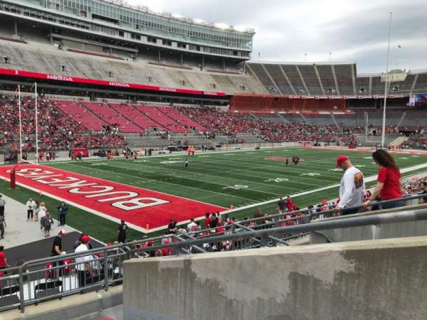 Ohio Stadium, section: 30a, row: 7, seat: 2