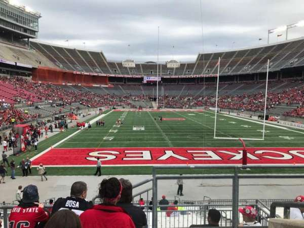 Ohio Stadium, section: 37a, row: 6, seat: 1