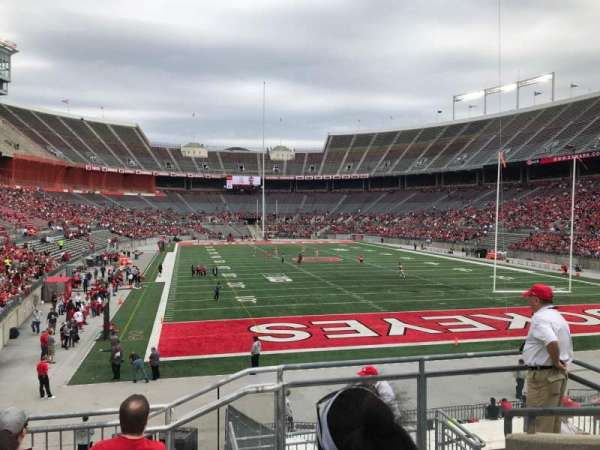 Ohio Stadium, section: 35a, row: 7, seat: 2