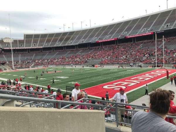 Ohio Stadium, section: 29a, row: 5, seat: 2