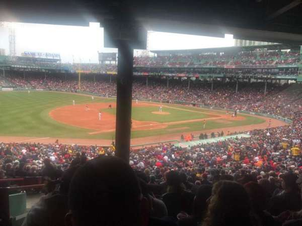 Fenway Park, section: Grandstand 29, row: 12, seat: 25