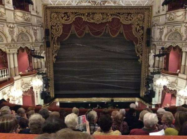 Lyceum Theatre (Sheffield), section: Circle, row: G, seat: 16