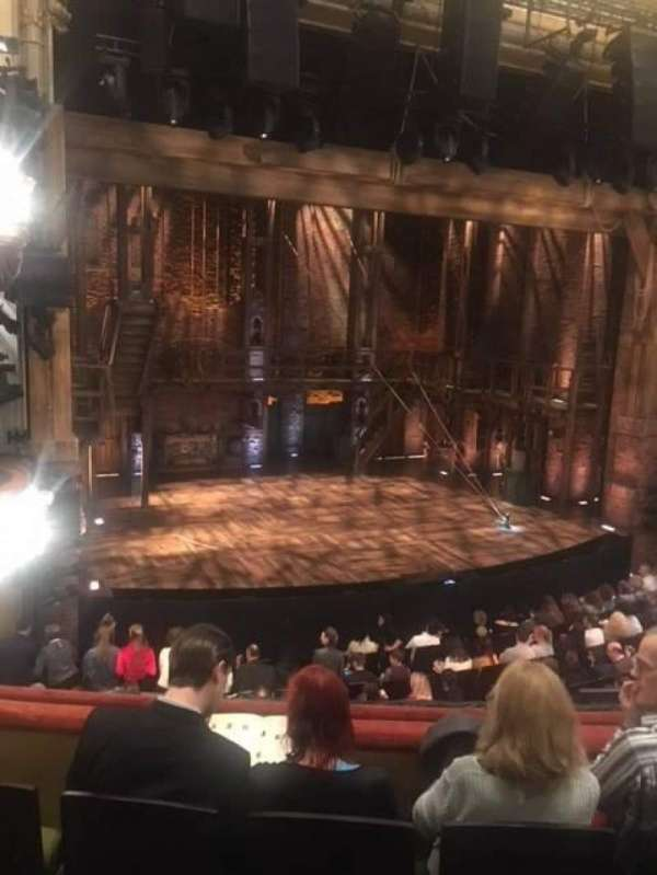 Victoria Palace Theatre, section: Dress Circle, row: D, seat: 34