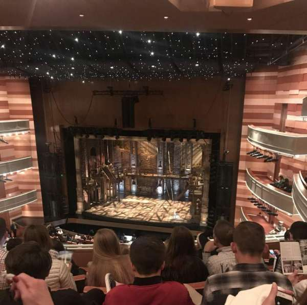 Eccles Theater, section: 2TR, row: F, seat: 117