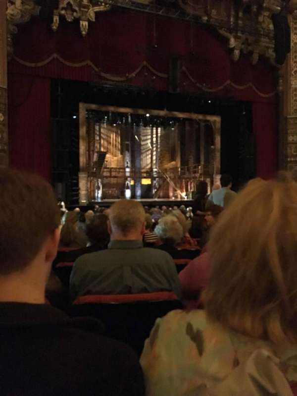 The Fabulous Fox Theatre (St. Louis), section: Orchestra 02, row: U, seat: 9