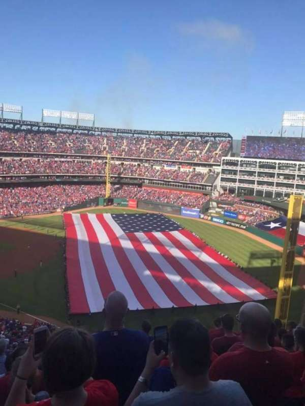 Globe Life Park in Arlington, section: 341, row: 11
