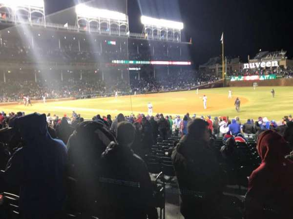 Wrigley Field, section: 134, row: 3, seat: 3